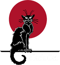The Black Cat Logo